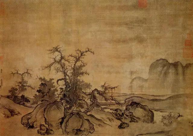 看懂中国画第一本书 从皴法分类看山水画的绘制技巧