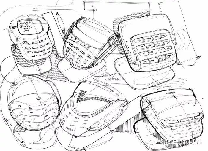 【考研】专题收集丨电子产品设计手绘灵感图