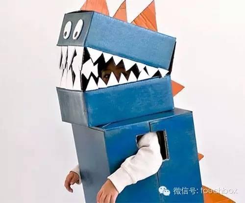 纸盒手工制作 恐龙