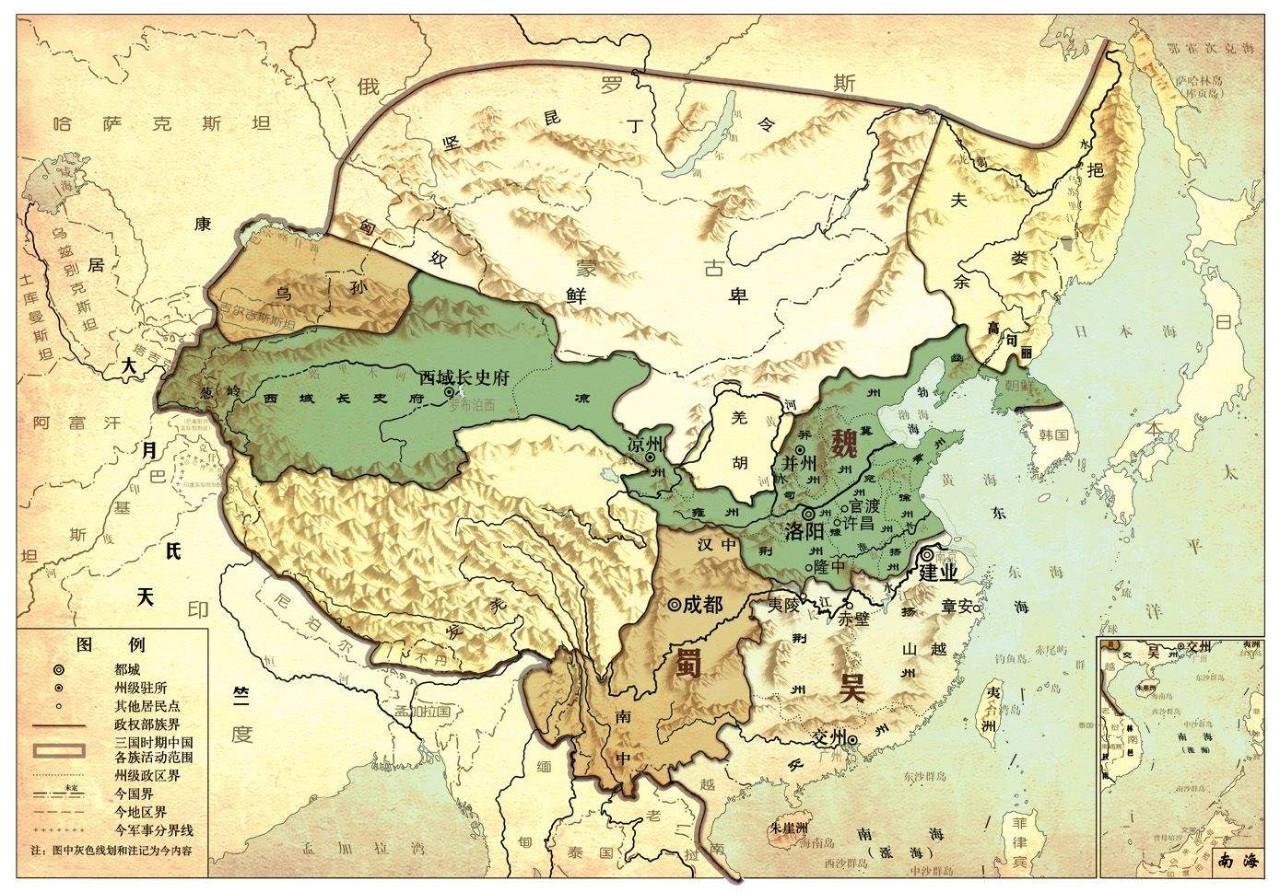 三国之魏国巅峰时期兵力和人口_三国魏国人口