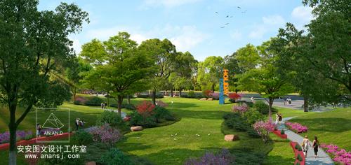 地被植物在景观园林效果图中的设计原则