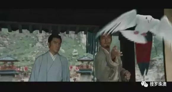 香港白鸽配日本经典电影,吴宇森带你重看《追捕》魅力图片