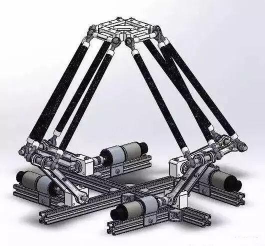 4轴并联机器人
