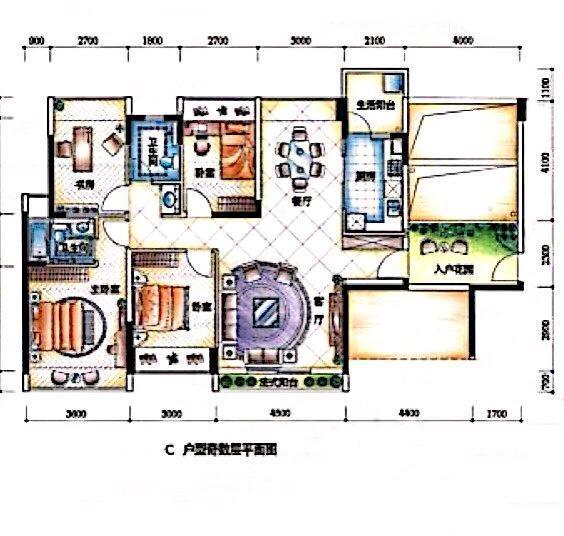 鞋柜结构图设计图纸