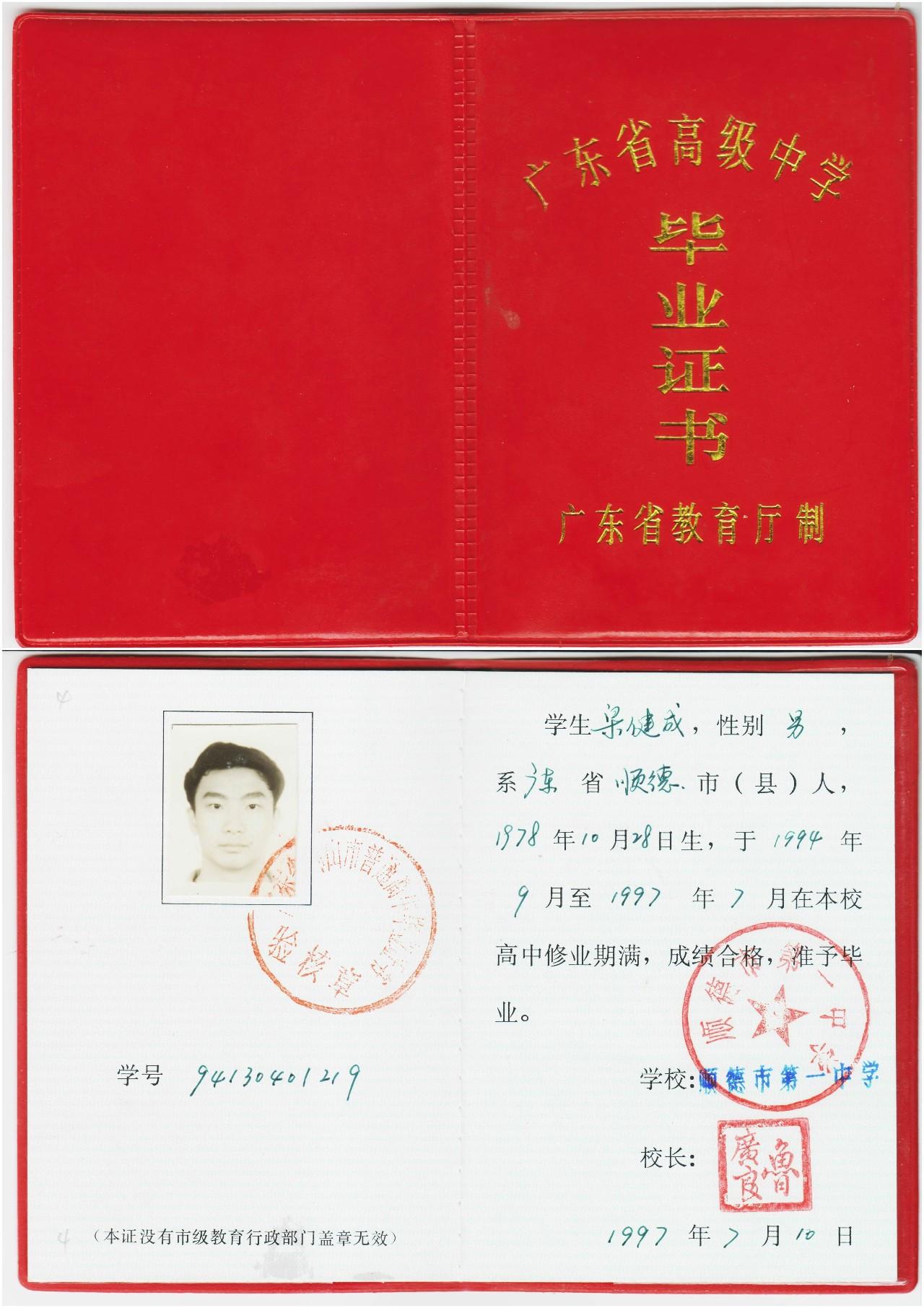 大专毕业证照片几寸_初中毕业证照片和高中毕业证照片都是几寸的?-