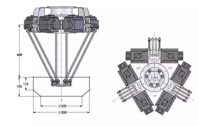 3軸并聯機器人