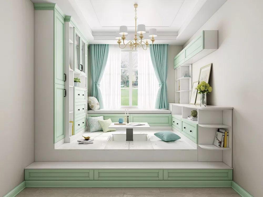 时尚 正文  在设计榻榻米的尺寸时,要根据房屋的层高和储物空间来决定