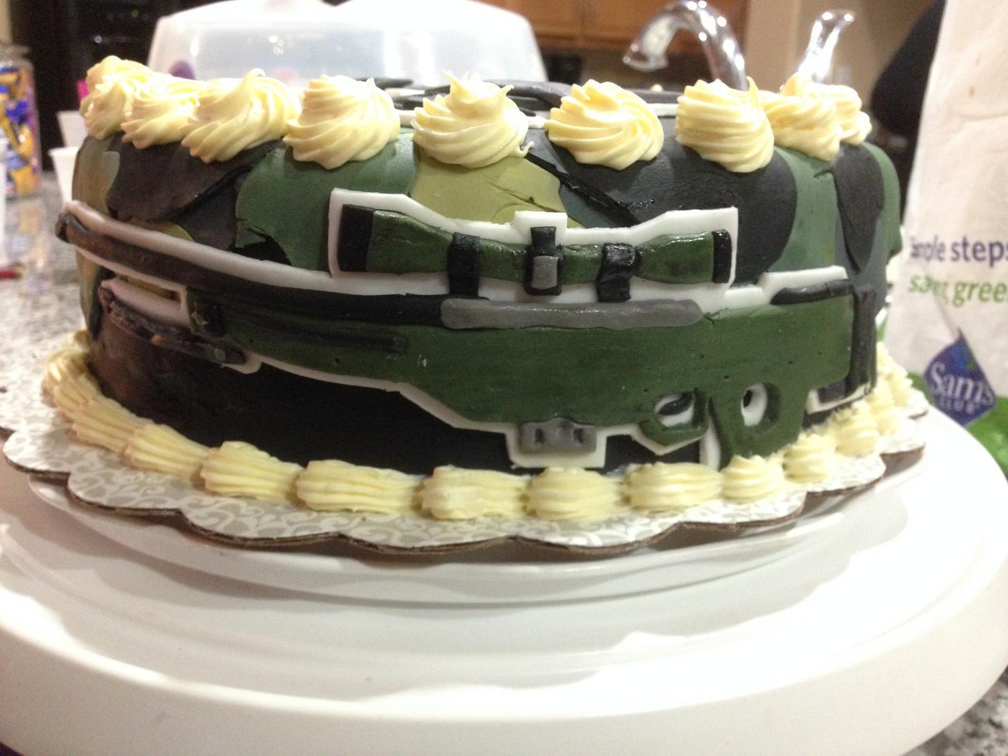 双层生日蛋糕图片大全