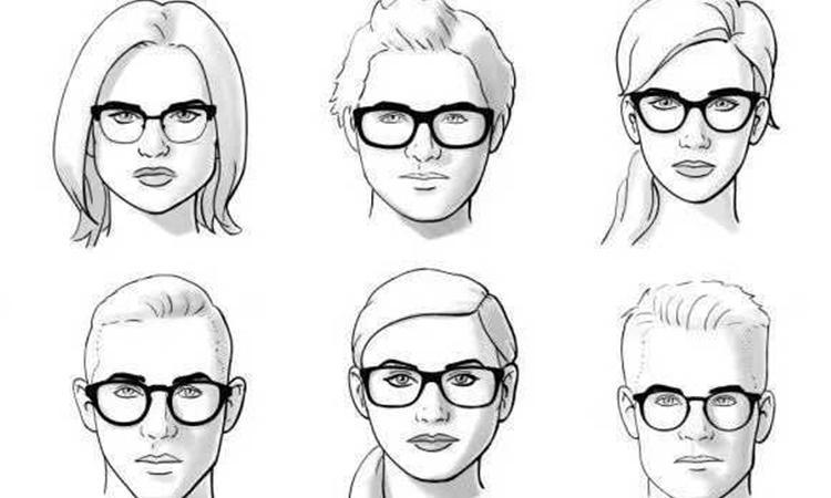 女生脸型结构手绘