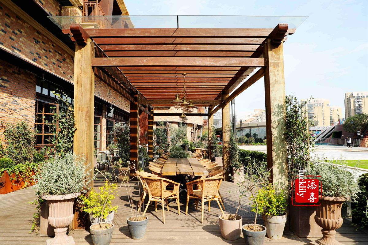 「杭州旅行推荐」摩奇先生空中花园创意西餐精酿吧