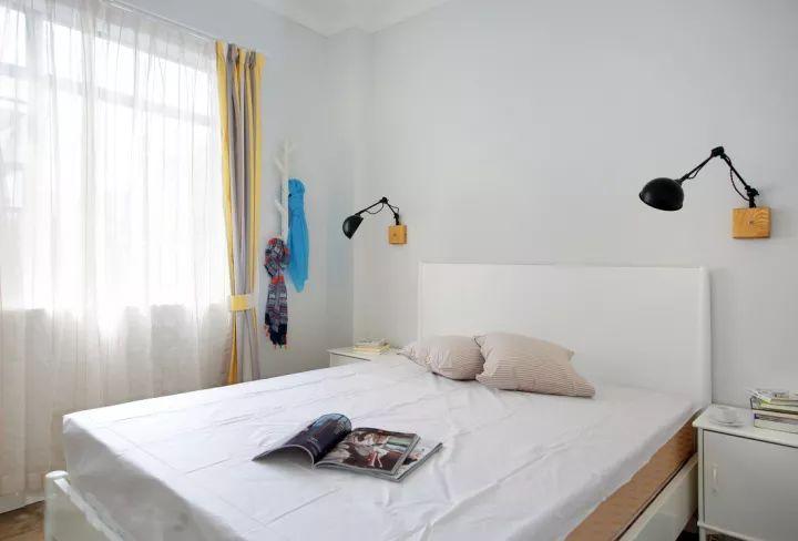 卧室墙背景家居设计卧室展位装修现代装修720_488窗帘图纸房间设计图图片