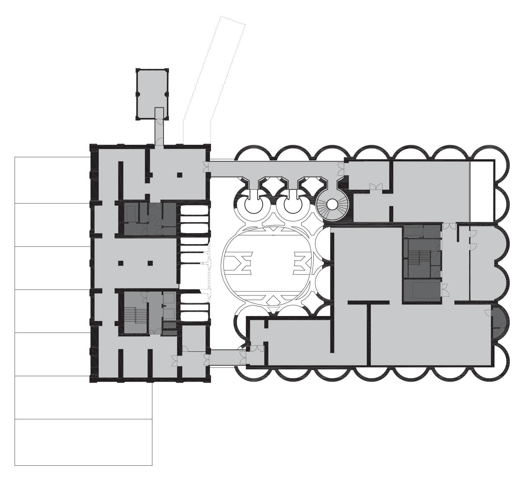 三楼平面图