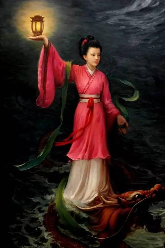 """海神妈祖_被誉为""""海上女神""""的妈祖"""