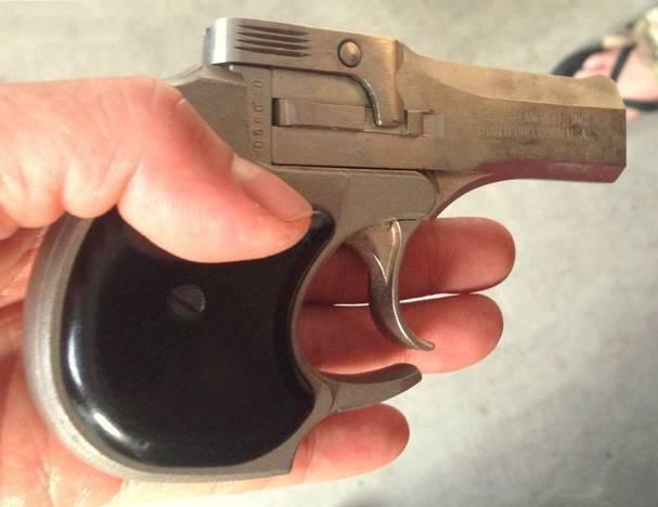 枪械库:刺杀林肯的凶器-德林杰小手枪!