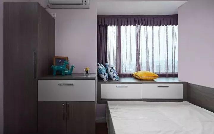 床头整体柜子手绘图
