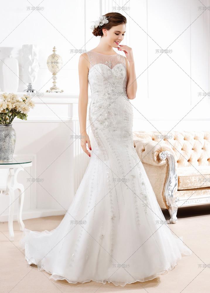 2018婚纱风格流行趋势 新娘婚纱礼服图片欣赏