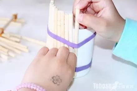 幼儿园废物利用手工制作!