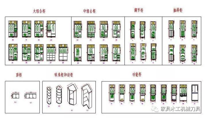 免费提供cad家具图库衣柜设计图,轻松实现家具衣柜图绘制