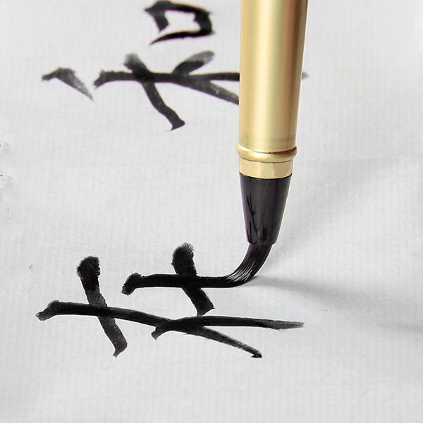 时下流行这种钢笔式软毛笔,创新设计,好用又显品味图片