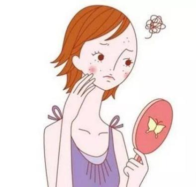 佳佳老师谈护肤——脸上总是无缘无故长粉刺 这可能是图片