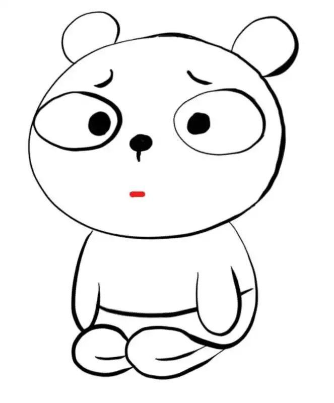 这波冷兔宝宝下跪的表情你给打几分?都是灵魂画手啊!图片