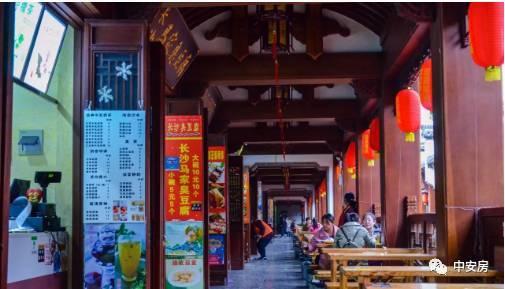 合肥城隍庙小吃外街