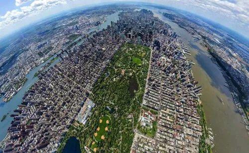 全球9个城市俯视图,排在最后的北京才叫惊艳。