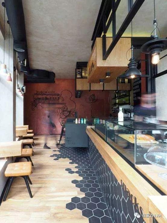 地板混搭瓷砖,提升小户型的高级感