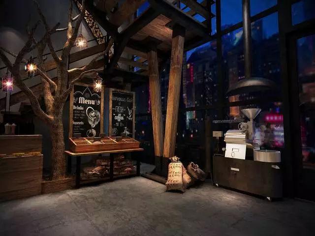 咖啡馆这样设计,不愁没有生意!图片