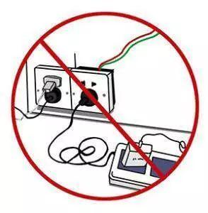 使用大功率电器及违禁电器设备