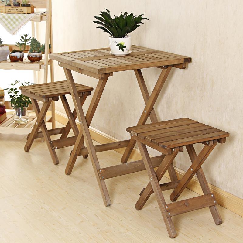 简约折叠桌椅