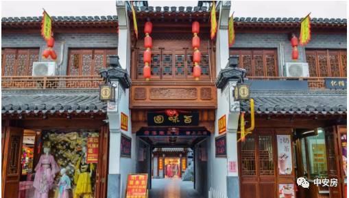合肥城隍庙历史改造过程