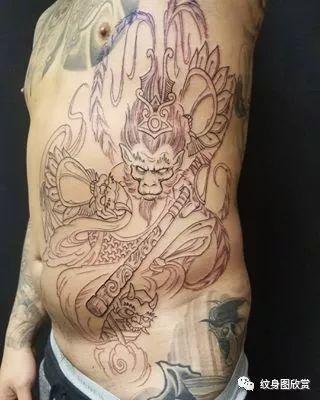 神话纹身 - 齐天大圣纹身图片