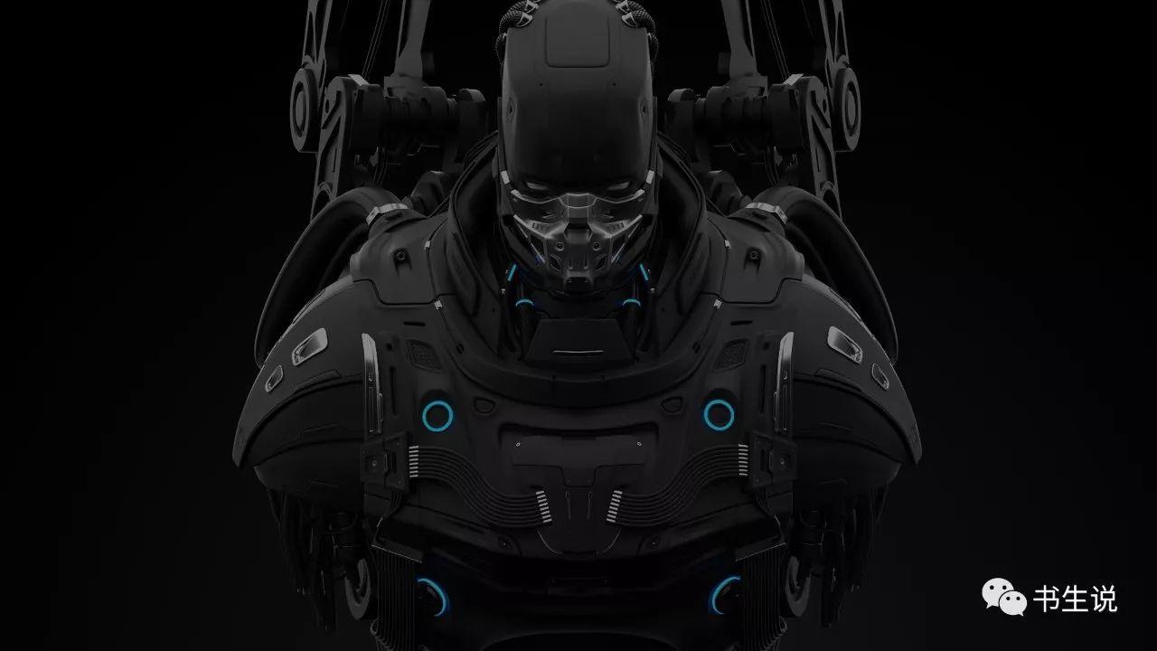 大师级三维�_福利 c4d三维科幻人物重机甲战士高级建模教程