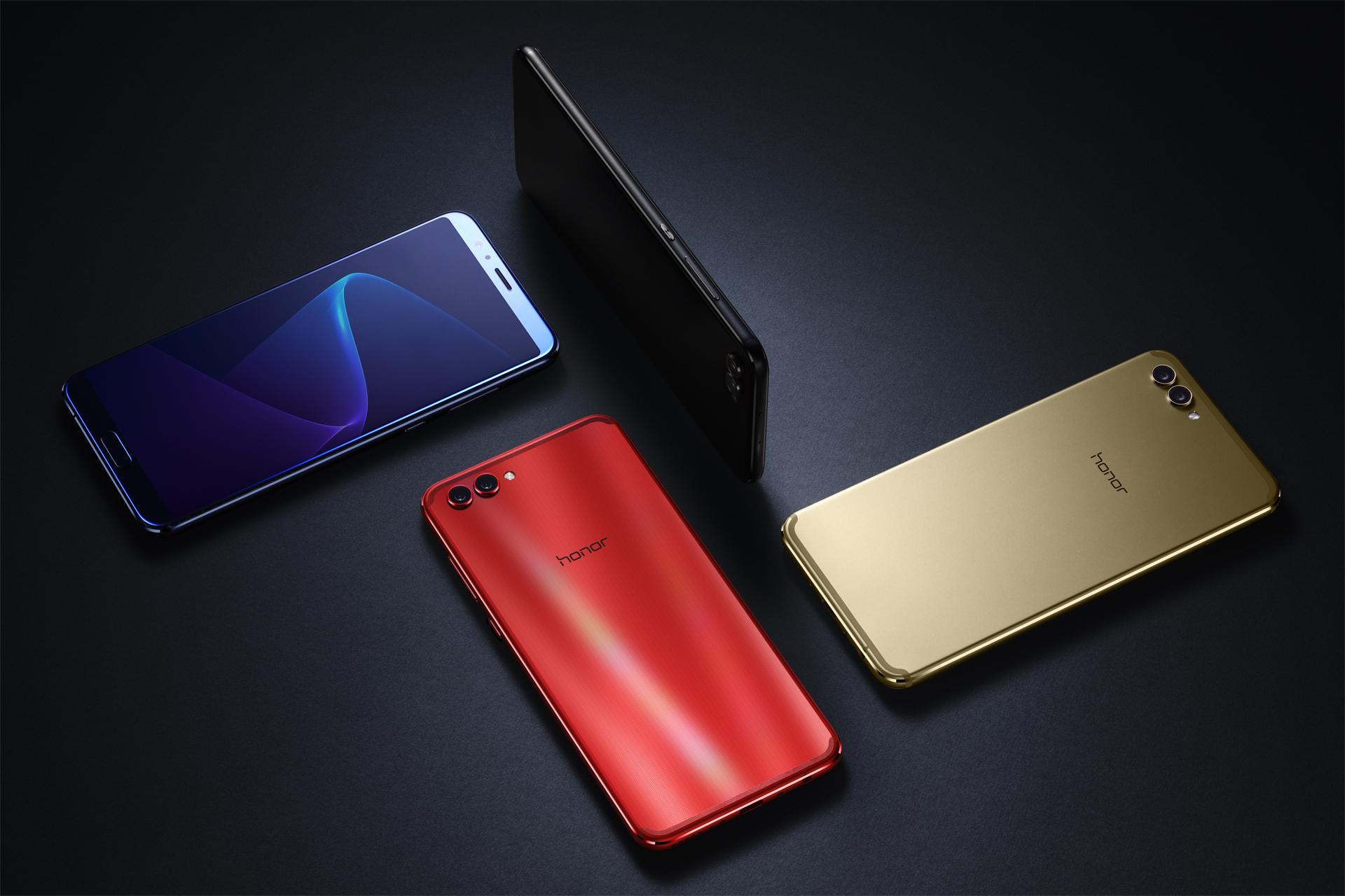 华为荣耀V10正式发布,2699元起,全面屏和正面指纹