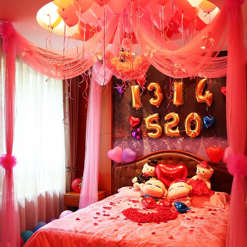 浪漫惊喜的房间布置_结婚当天婚房该怎么布置好看?有了这些宝贝,浪漫温馨人人夸