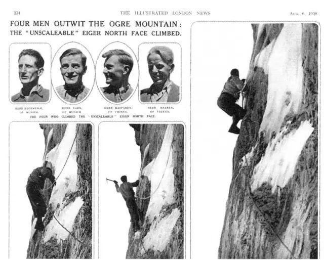 登山|1936,艾格峰北壁最悲壮的一场死亡