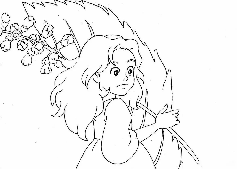 马克笔画教程 宫崎骏王国 爱丽缇 超详细零基础马克笔手绘教程