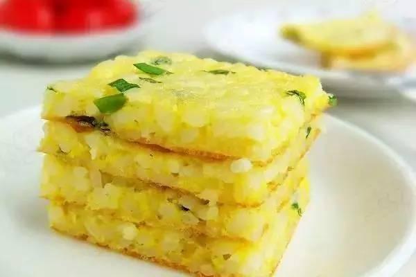 8,米饭鸡蛋饼