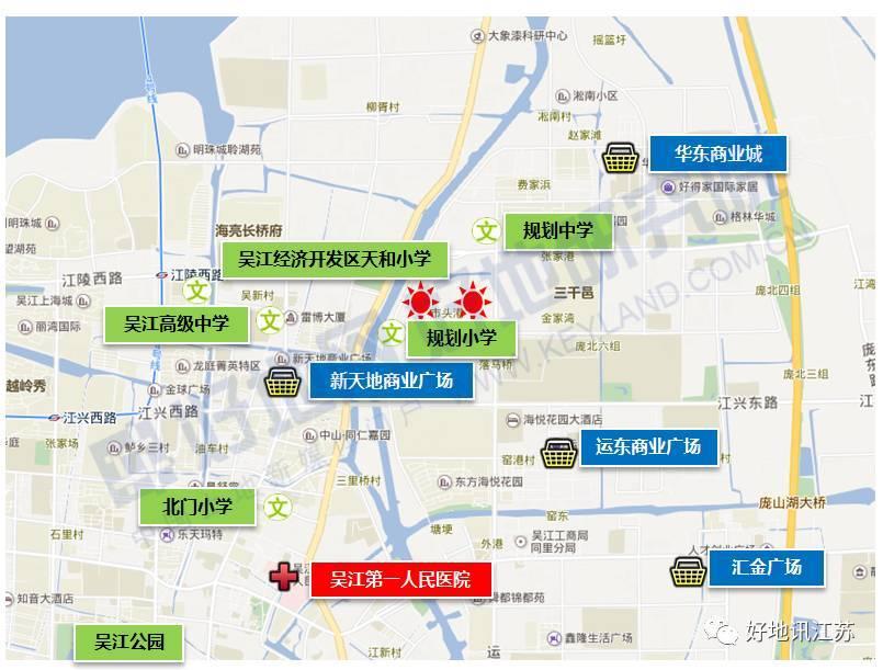 吴江运东规划图