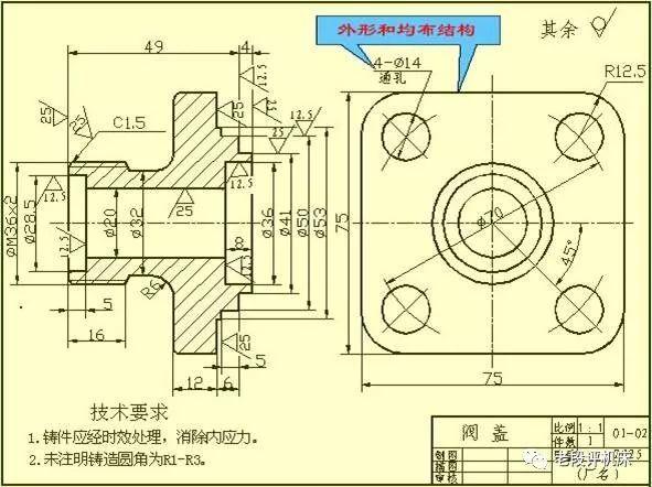 机械设计中的尺寸标注,看懂复杂机械图纸!so,easy! 注意收藏哦