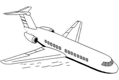 来来来,看看飞机简笔画,有些小朋友真是太有才了