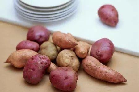 减肥能吃紫薯当主食吗图片