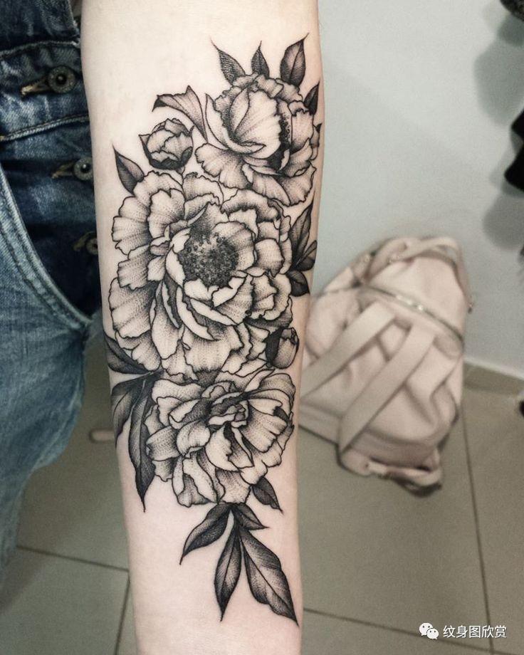 植物纹身 - 【花卉】纹身图片