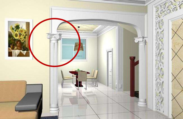 垭口越来越频繁的出现在现代家装设计中,甚至有逐步取代门在家中位置图片