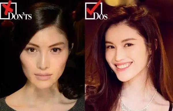 但是,当欧美化妆师按照给外国模特化妆的手法画到wuli仙姑的脸上,仙气