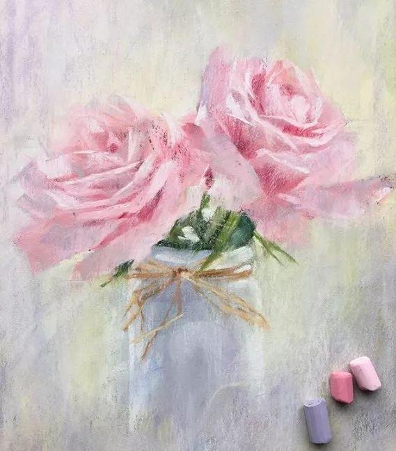 粉笔画也可以美成这样,颠覆了我对粉笔的认识