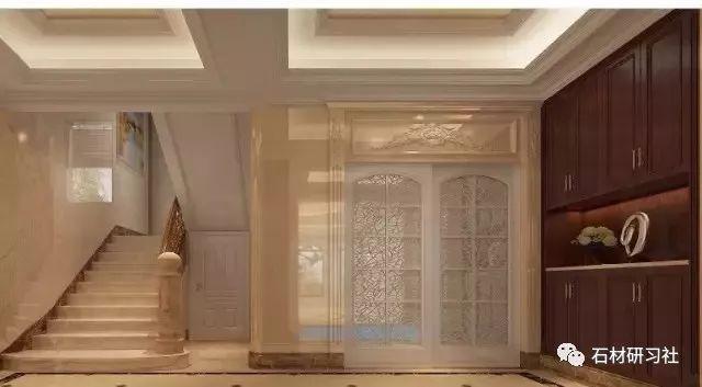 八套欧式别墅大理石装饰案例
