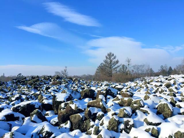五大连池龙门石寨之冬静美而!