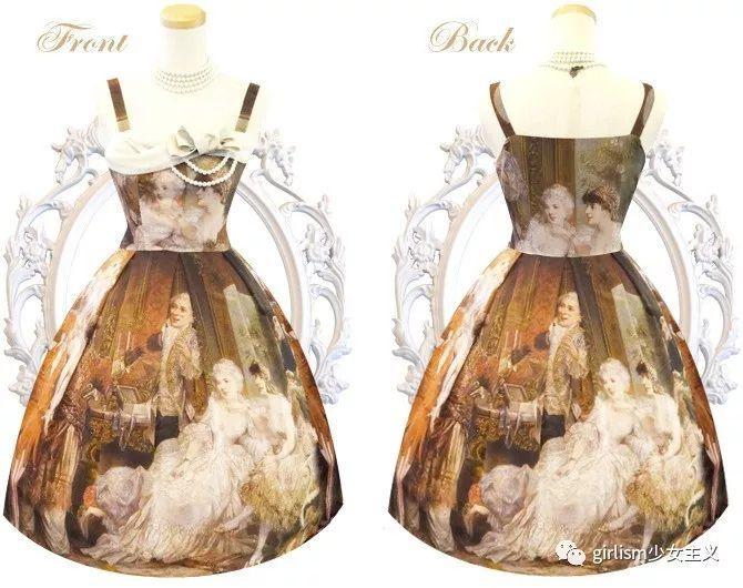 把油画印在lolita裙子上是怎样一种体验?(jej篇 02)图片